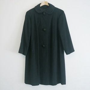 Hand tailored 100% Cashmere peacoat